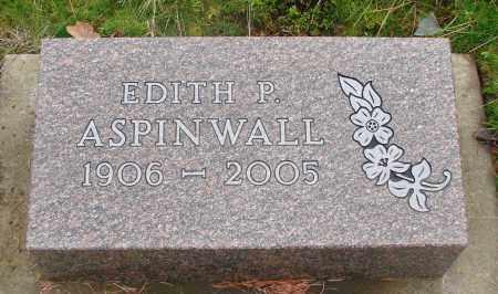 ASPINWALL, EDITH P - Marion County, Oregon | EDITH P ASPINWALL - Oregon Gravestone Photos
