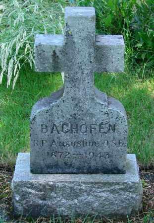 BAGHOFEN, AUGUSTINE - Marion County, Oregon | AUGUSTINE BAGHOFEN - Oregon Gravestone Photos