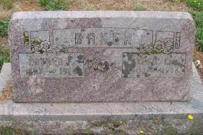 BAKER, ARTHUR F - Marion County, Oregon   ARTHUR F BAKER - Oregon Gravestone Photos