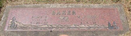 BAKER, MELVILLEN JUDSON - Marion County, Oregon   MELVILLEN JUDSON BAKER - Oregon Gravestone Photos