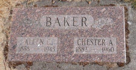 BAKER, ALEEN GEORGIA - Marion County, Oregon | ALEEN GEORGIA BAKER - Oregon Gravestone Photos