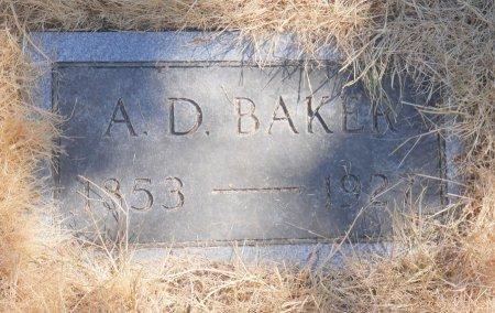 BAKER, ALMON DALEN - Marion County, Oregon | ALMON DALEN BAKER - Oregon Gravestone Photos