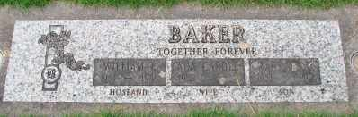 BAKER, WILLIAM L - Marion County, Oregon | WILLIAM L BAKER - Oregon Gravestone Photos