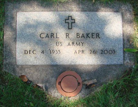 BAKER, CARL ROBERT - Marion County, Oregon | CARL ROBERT BAKER - Oregon Gravestone Photos