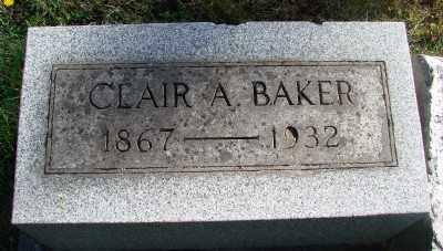 BAKER, CLAIR A - Marion County, Oregon | CLAIR A BAKER - Oregon Gravestone Photos