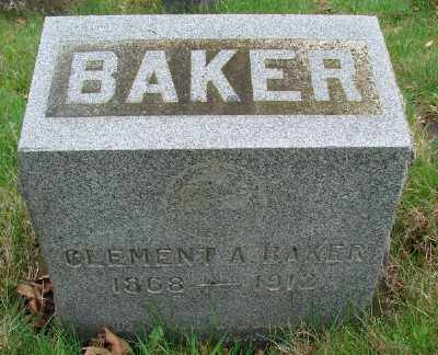 BAKER, CLEMENT A - Marion County, Oregon | CLEMENT A BAKER - Oregon Gravestone Photos