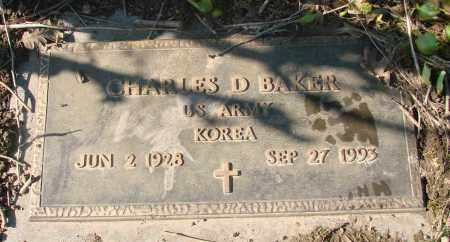 BAKER, CHARLES DUANE - Marion County, Oregon   CHARLES DUANE BAKER - Oregon Gravestone Photos