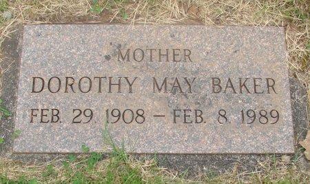 BAKER, DOROTHY MAY - Marion County, Oregon | DOROTHY MAY BAKER - Oregon Gravestone Photos