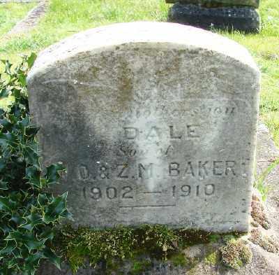 BAKER, DALE - Marion County, Oregon   DALE BAKER - Oregon Gravestone Photos