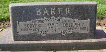 BAKER, SCOTT GLASSON - Marion County, Oregon | SCOTT GLASSON BAKER - Oregon Gravestone Photos
