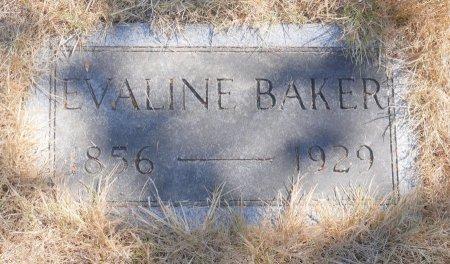 BAKER, EVALINE - Marion County, Oregon | EVALINE BAKER - Oregon Gravestone Photos