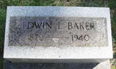 BAKER, EDWIN L - Marion County, Oregon | EDWIN L BAKER - Oregon Gravestone Photos