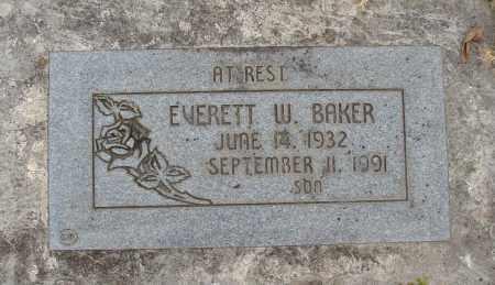 BAKER, EVERETT W - Marion County, Oregon | EVERETT W BAKER - Oregon Gravestone Photos