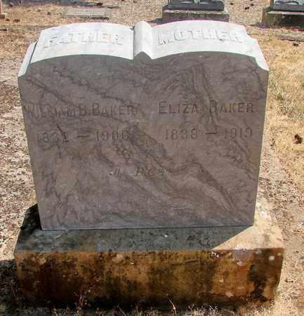 BAKER, ELIZA - Marion County, Oregon | ELIZA BAKER - Oregon Gravestone Photos