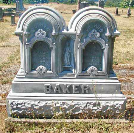 BAKER, WILLIAM HARRISON - Marion County, Oregon | WILLIAM HARRISON BAKER - Oregon Gravestone Photos