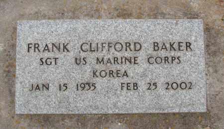 BAKER, FRANK CLIFFORD - Marion County, Oregon   FRANK CLIFFORD BAKER - Oregon Gravestone Photos