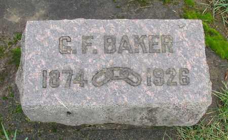 BAKER, GEORGE FRANKLIN - Marion County, Oregon | GEORGE FRANKLIN BAKER - Oregon Gravestone Photos