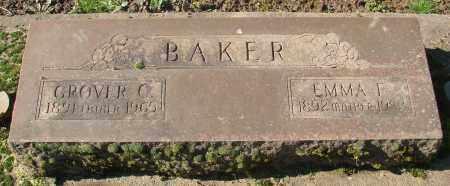 BAKER, EMMA FRANCES - Marion County, Oregon | EMMA FRANCES BAKER - Oregon Gravestone Photos
