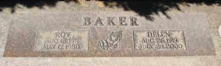 BAKER, ROY - Marion County, Oregon   ROY BAKER - Oregon Gravestone Photos