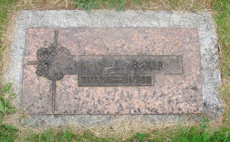 BAKER, JIMMY L - Marion County, Oregon | JIMMY L BAKER - Oregon Gravestone Photos