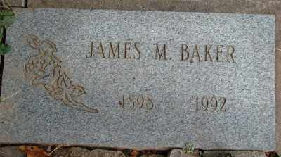 BAKER, JAMES M, SR. - Marion County, Oregon | JAMES M, SR. BAKER - Oregon Gravestone Photos