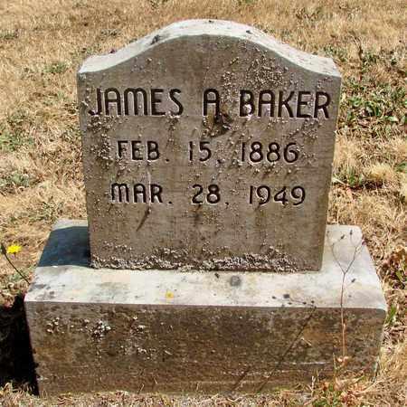 BAKER, JAMES ARLEY - Marion County, Oregon   JAMES ARLEY BAKER - Oregon Gravestone Photos