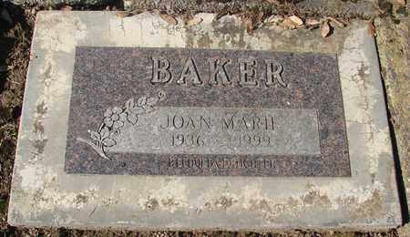 BAKER, JOAN MARIE - Marion County, Oregon | JOAN MARIE BAKER - Oregon Gravestone Photos