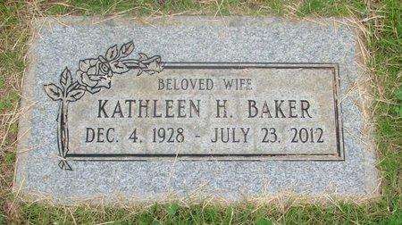 BAKER, KATHLEEN HELEN - Marion County, Oregon | KATHLEEN HELEN BAKER - Oregon Gravestone Photos