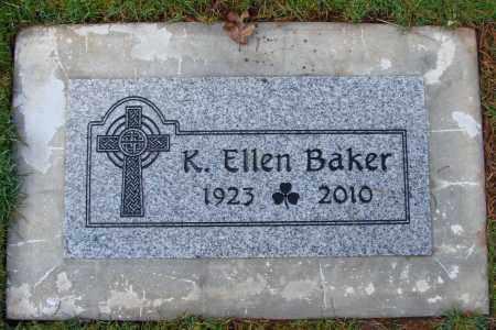 BAKER, KATHRYN ELLEN - Marion County, Oregon | KATHRYN ELLEN BAKER - Oregon Gravestone Photos