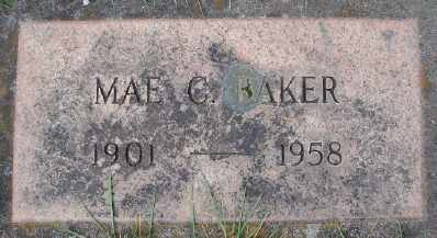 BAKER, MAE C - Marion County, Oregon | MAE C BAKER - Oregon Gravestone Photos