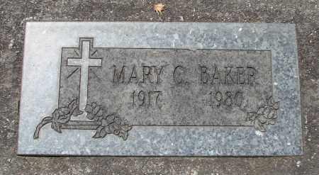 BAKER, MARY C - Marion County, Oregon   MARY C BAKER - Oregon Gravestone Photos