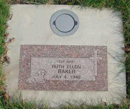 BAKER, RUTH ELLEN - Marion County, Oregon | RUTH ELLEN BAKER - Oregon Gravestone Photos