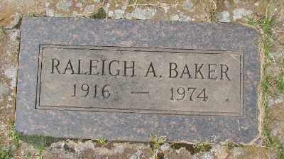 BAKER, RALEIGH A - Marion County, Oregon | RALEIGH A BAKER - Oregon Gravestone Photos