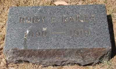 BAKER, RUBY E - Marion County, Oregon | RUBY E BAKER - Oregon Gravestone Photos