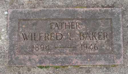BAKER, WILFRED L - Marion County, Oregon | WILFRED L BAKER - Oregon Gravestone Photos