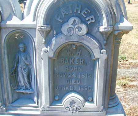 BAKER, WILLIAM HARRISON - Marion County, Oregon | WILLIAM HARRISON BAKER - Oregon Gravestone Photos
