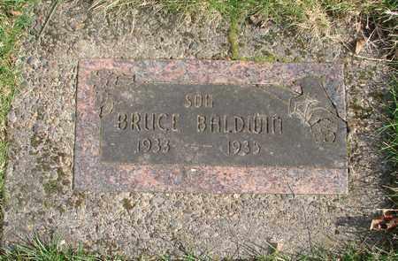 BALDWIN, BRUCE - Marion County, Oregon   BRUCE BALDWIN - Oregon Gravestone Photos