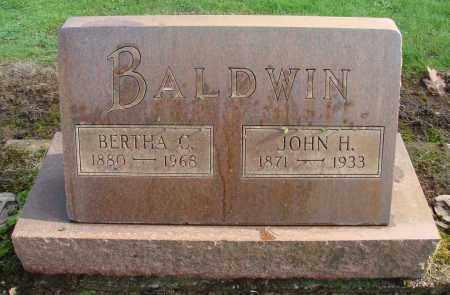 BALDWIN, JOHN H - Marion County, Oregon | JOHN H BALDWIN - Oregon Gravestone Photos