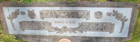 BALDWIN, RUTH E - Marion County, Oregon | RUTH E BALDWIN - Oregon Gravestone Photos
