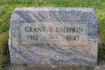 BALDWIN, GRANT W - Marion County, Oregon   GRANT W BALDWIN - Oregon Gravestone Photos