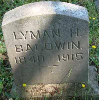BALDWIN, LYMAN H - Marion County, Oregon | LYMAN H BALDWIN - Oregon Gravestone Photos