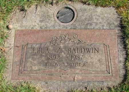 BALDWIN, LELA ZOE - Marion County, Oregon | LELA ZOE BALDWIN - Oregon Gravestone Photos