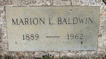 BALDWIN, MARION L - Marion County, Oregon | MARION L BALDWIN - Oregon Gravestone Photos