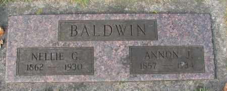 BALDWIN, NELLIE G - Marion County, Oregon | NELLIE G BALDWIN - Oregon Gravestone Photos