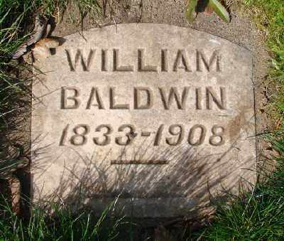 BALDWIN, WILLIAM - Marion County, Oregon   WILLIAM BALDWIN - Oregon Gravestone Photos