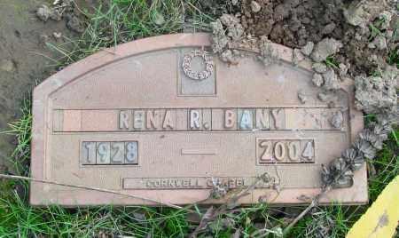 BANY, RENA RUTH - Marion County, Oregon | RENA RUTH BANY - Oregon Gravestone Photos
