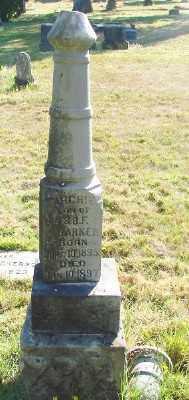 BARKER, ARCHIE - Marion County, Oregon   ARCHIE BARKER - Oregon Gravestone Photos