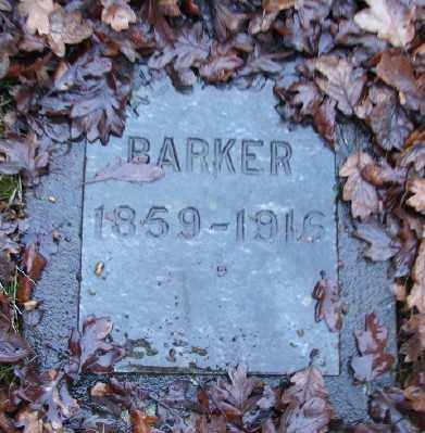 BARKER, ALFRED E - Marion County, Oregon | ALFRED E BARKER - Oregon Gravestone Photos