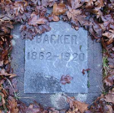 BARKER, CHARLES CLINTON - Marion County, Oregon   CHARLES CLINTON BARKER - Oregon Gravestone Photos