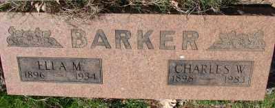 BARKER, ELLA MAY - Marion County, Oregon | ELLA MAY BARKER - Oregon Gravestone Photos
